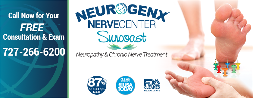 Neurogenx NerveCenter of Suncoast Free Consutation