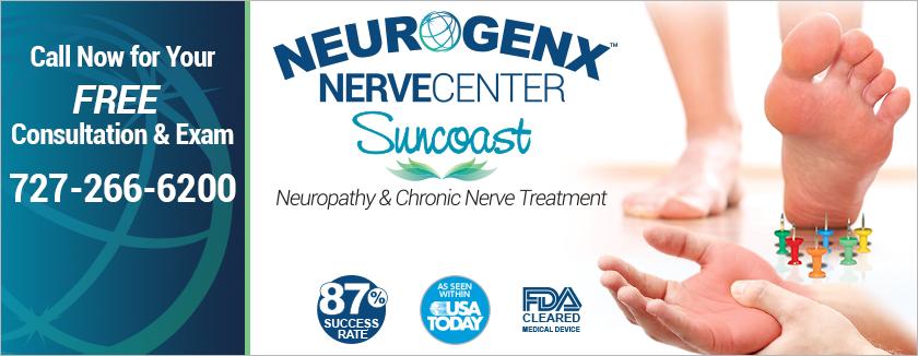 Neurogenx NerveCenter of Suncoast Free Consutation